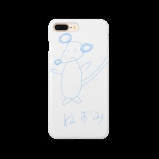 simono0501の絵心がないネズミシリーズ Smartphone cases