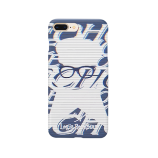 Logic RockStar  illustration Official StoreのECHO  Smartphone cases