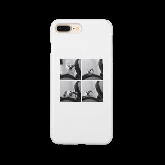 anatoinの4面ねもち Smartphone cases
