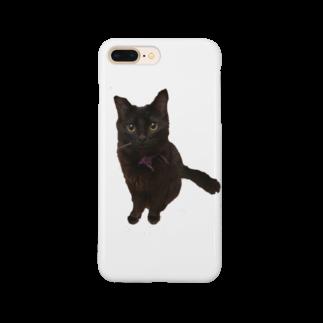 ねこまちランドのおすわりレオン2 Smartphone cases