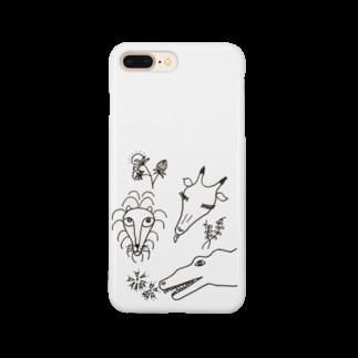 カロンのバッタリ Smartphone cases