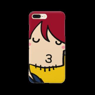 りおたの夜22時のドラマにありがちなキス顔 Smartphone cases