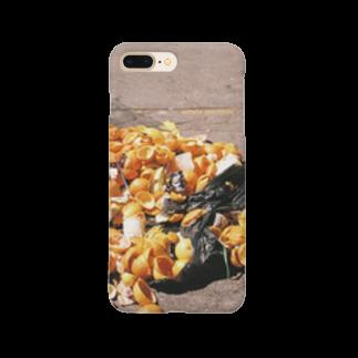 ハチワレネットワークのオレンジのシカバネ Smartphone cases