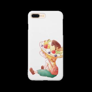 nao。のプリン・ア・ラ・モード Smartphone cases
