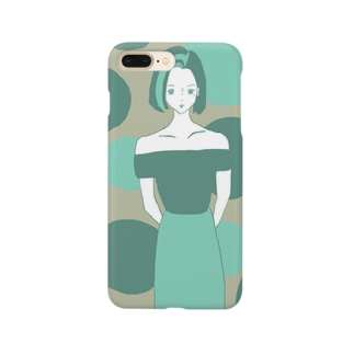 Green Lady Smartphone cases