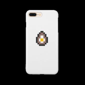 カットボスの煮卵 Smartphone cases