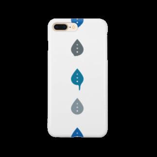むら@タグのしたたるシズク「青」 Smartphone cases