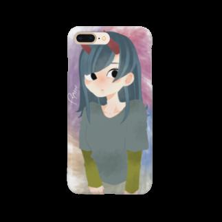 rainbomの水彩小鬼チャン Smartphone cases