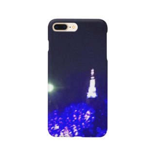 kyouaku_drmのぼくと冬の夜 Smartphone cases