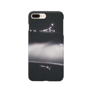 夜のドライブ Smartphone cases