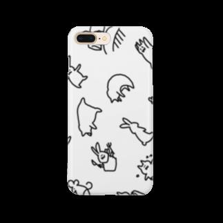 豆腐[ 'ω' ]のてぐせねこランダム Smartphone cases
