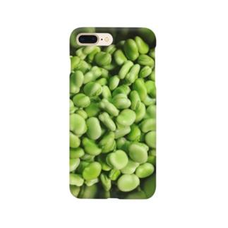 メタリック空豆  Smartphone cases
