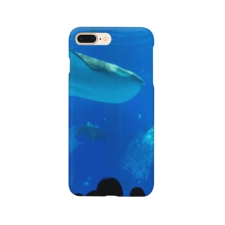 ジンベイザメの写真 Smartphone cases