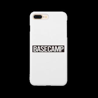 BASE-CAMPのBASE CAMP BLACK Smartphone cases