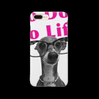 イロハのNo dog,No life! ピンク Smartphone cases