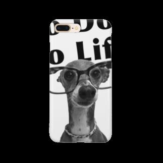 イロハのNo dog,No life! 黒 Smartphone cases