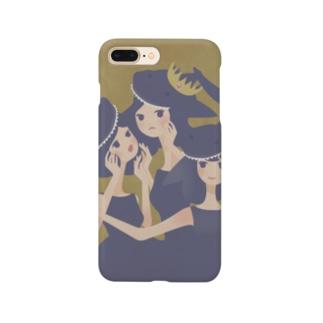 おサメ姫の森〜3sharks Smartphone cases