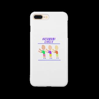 marippaの肩もみサークル Smartphone cases
