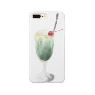 .ソーダフロート Smartphone cases