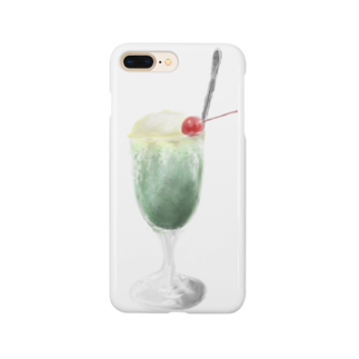 Unoの.ソーダフロート Smartphone cases
