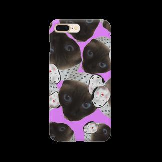 宇乃 枢のまつりねこ(Uno ver) Smartphone cases