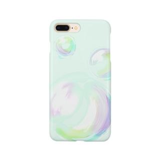 シャボン玉のスマホケース Smartphone cases
