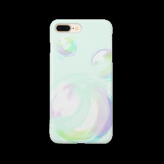 gaominのシャボン玉のスマホケース Smartphone cases