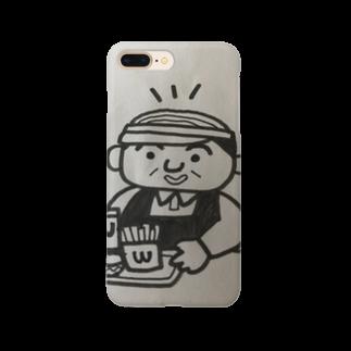 nico502のバーコード店長   ファーストフード編 Smartphone cases