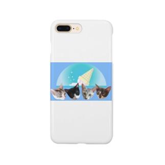 No.7 フルーツ4兄弟♪ Smartphone cases