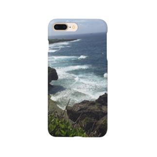 沖縄、喜屋武岬 Smartphone cases