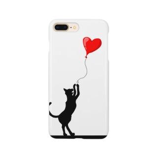 ネコのスマホケース Smartphone cases