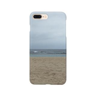 沖縄の浜辺 Smartphone cases