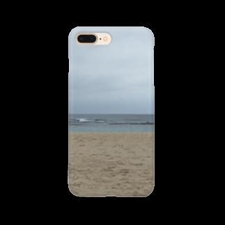 maik1982の沖縄の浜辺 Smartphone cases