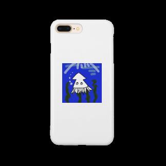 m_22_bnnmnのただのイカ Smartphone cases