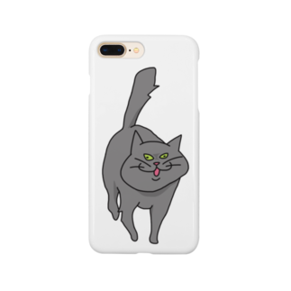 yojiyojlのやせいのネコ Smartphone cases