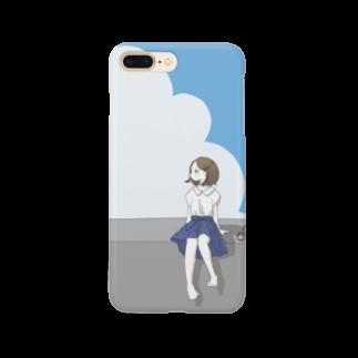 うき**の夏の空2 Smartphone cases