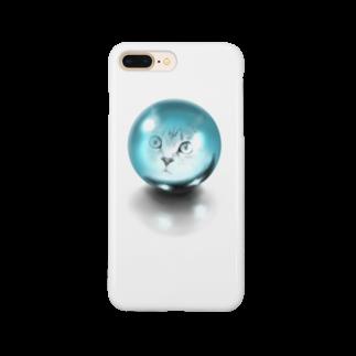 TAKUMの水晶と猫 Smartphone cases