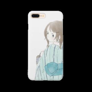 うき**の海の浴衣 Smartphone cases