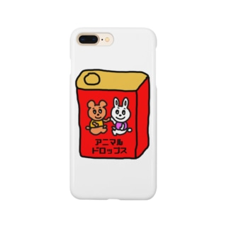 アニマルドロップス Smartphone cases