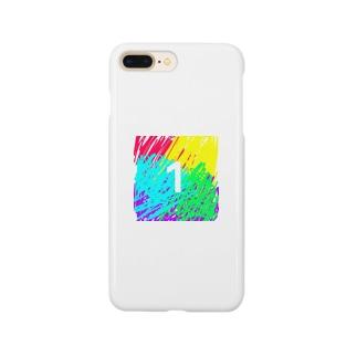 虹色とワン Smartphone cases