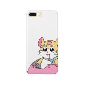 レッキングボール〜ポプテ風味〜 Smartphone cases