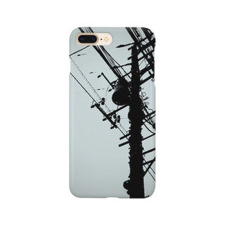 KALYAのElectrical wire Smartphone cases