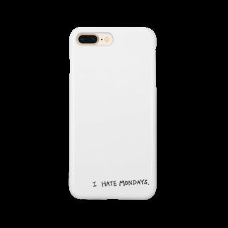 たのしりぃず。の月曜日きらい Smartphone cases