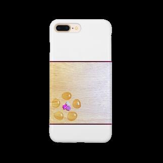 hitomin311のginkgo sugar flower Smartphone cases