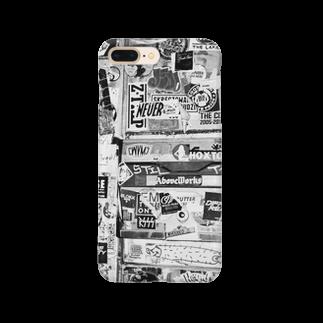 kio photo worksのShibuya wall photo Smartphone cases