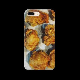 食卓のうちの食卓 唐揚げが上手 Smartphone cases