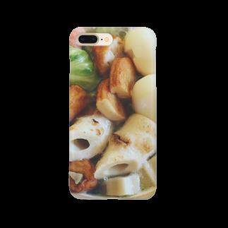 食卓のうちの食卓 あつあつおでん Smartphone cases