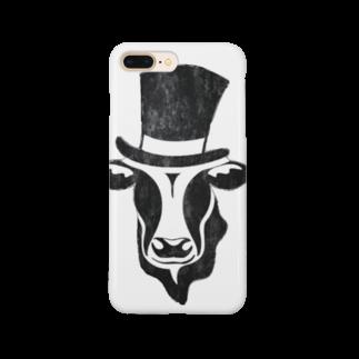 Mattyanの牛が良き(dark) Smartphone cases