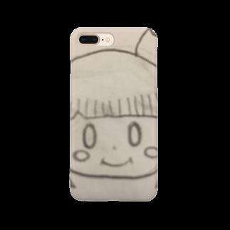 市イラストグッズショップの可愛い宇宙人ちゃん Smartphone cases