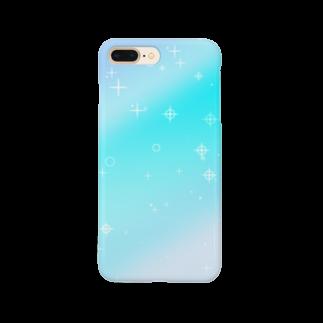 まめ@ゆるふわおもろ発見隊のグラデ1 Smartphone cases